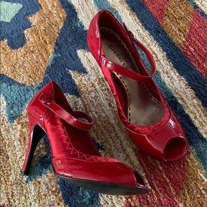 Little red heels! ♥️